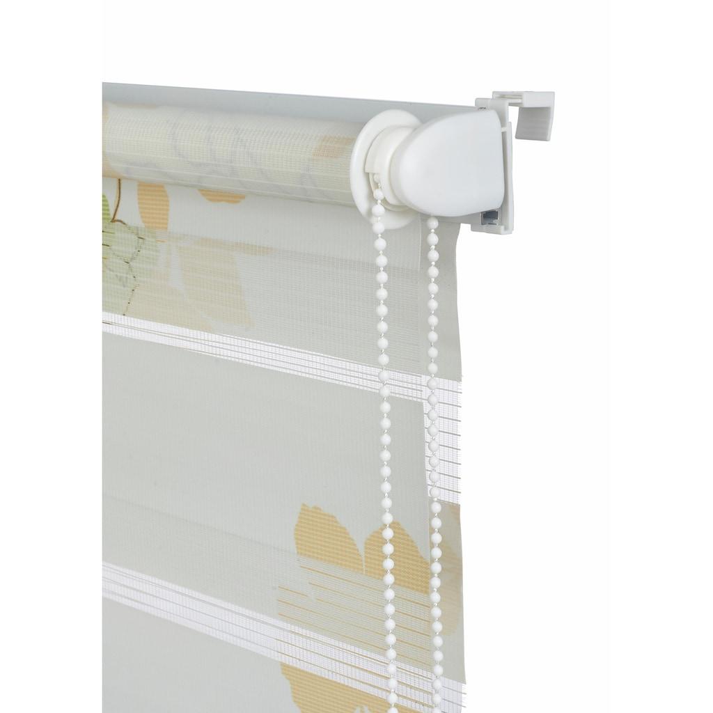 my home Doppelrollo »Damar«, Lichtschutz, ohne Bohren, freihängend, im Fixmaß