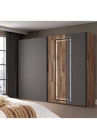 FORTE Schwebetürenschrank »Sirius Black«, mit LED-Beleuchtung kaufen