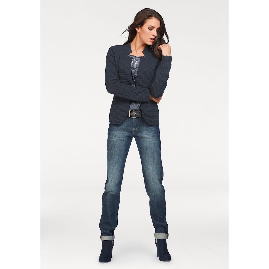 Aniston SELECTED Jackenblazer, mit Struktur
