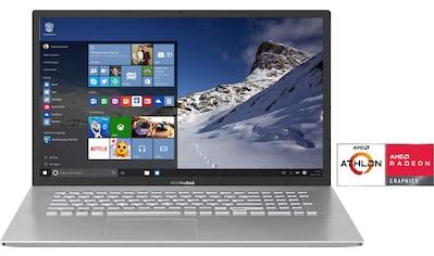 Asus VivoBook D712DA - BX185T Notebook (43,94 cm / 17,3 Zoll, AMD,Athlon, 256 GB SSD) kaufen