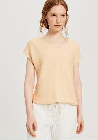OPUS Blusenshirt »Suvike«, mit Struktur-Optik kaufen