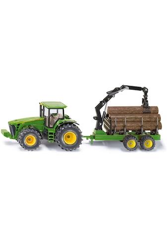 Siku Spielzeug-Traktor »SIKU Farmer, John Deere 8430 mit Forstanhänger« kaufen