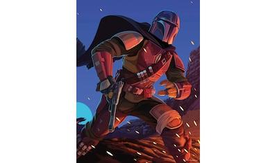 Komar Wandbild »Mandalorian Ambush«, Disney-Star Wars, (1 St.), 40 x 50 cm (Breite x... kaufen
