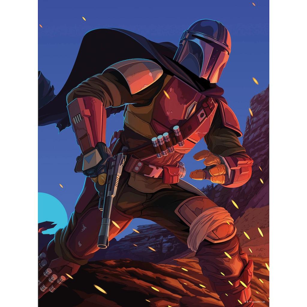 Komar Wandbild »Mandalorian Ambush«, Disney-Star Wars, (1 St.), 40 x 50 cm (Breite x Höhe) - 1 Teil