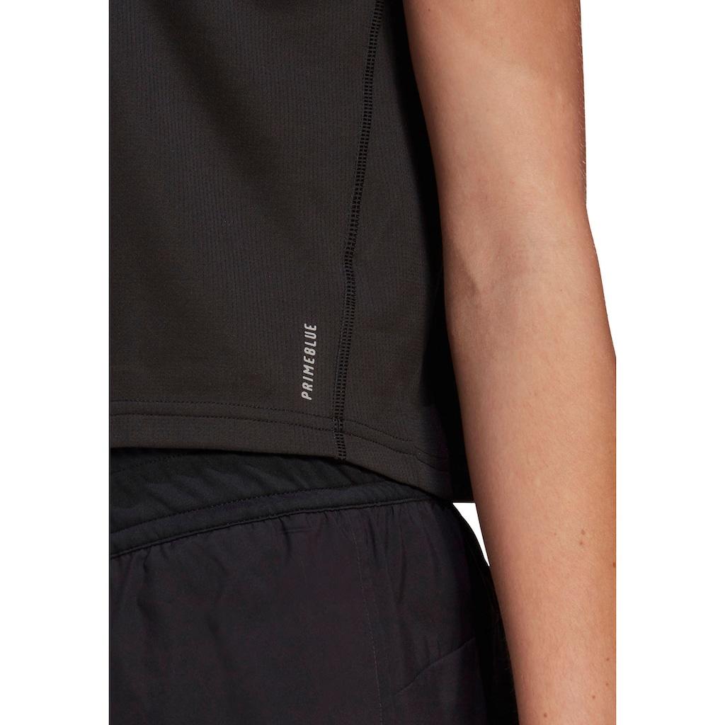 adidas Performance Laufshirt »ADIDAS FAST PRIMEBLUE TEE WOMEN«