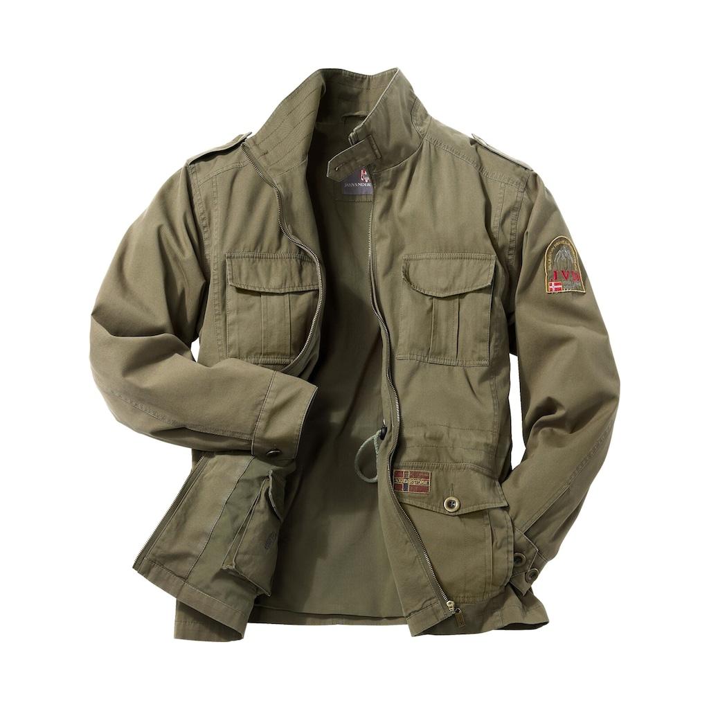 Jan Vanderstorm Fieldjacket »BROR«, robuste Übergangsjacke