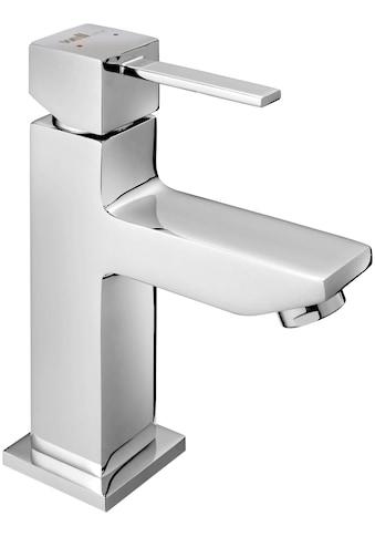 WELLTIME Waschtischarmatur »Trento«, Wasserhahn, Einhebelmischer, Badarmatur, eckig kaufen