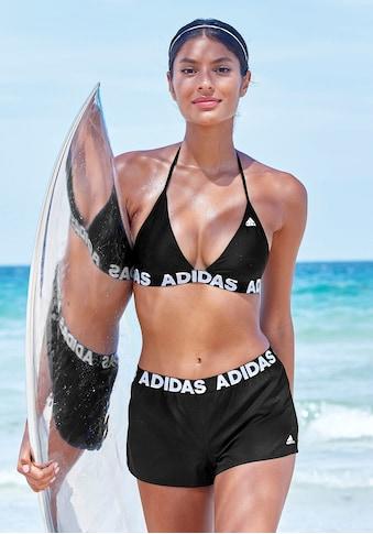 adidas Performance Triangel-Bikini, mit Markenschriftzügen kaufen