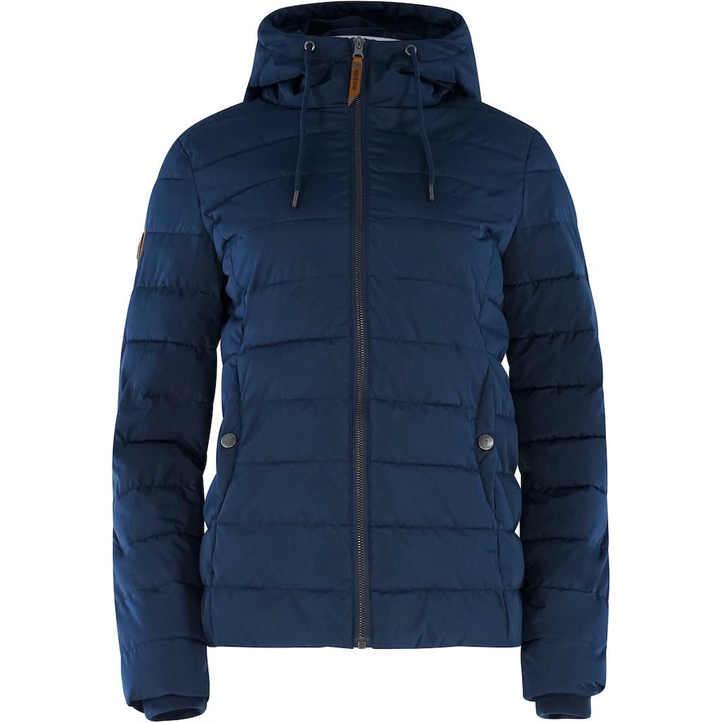 MAZINE Outdoorjacke »Juneau Down Jacket«, mit Kapuze& hohem Stehkragen
