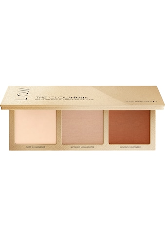 "L.O.V Highlighter - Palette ""THE GLOWRIOUS highlighting & bronzing palette 010"" kaufen"
