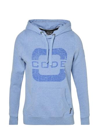 CODE-ZERO Kapuzensweatshirt »Transire Hoody Women«, Applikationen kaufen