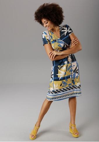 Aniston SELECTED Sommerkleid, im modischen Patch-Druck - NEUE KOLLEKTION kaufen