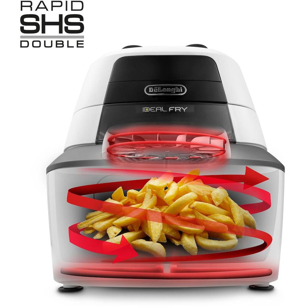 De'Longhi Heissluftfritteuse »IdealFry FH 2133«, Multicooker mit 4-in-1 Funktion, auch zum Brotbacken, Fassungsvermögen 1,25 kg