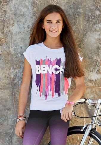 Bench. T-Shirt, in weiter legerer Form kaufen
