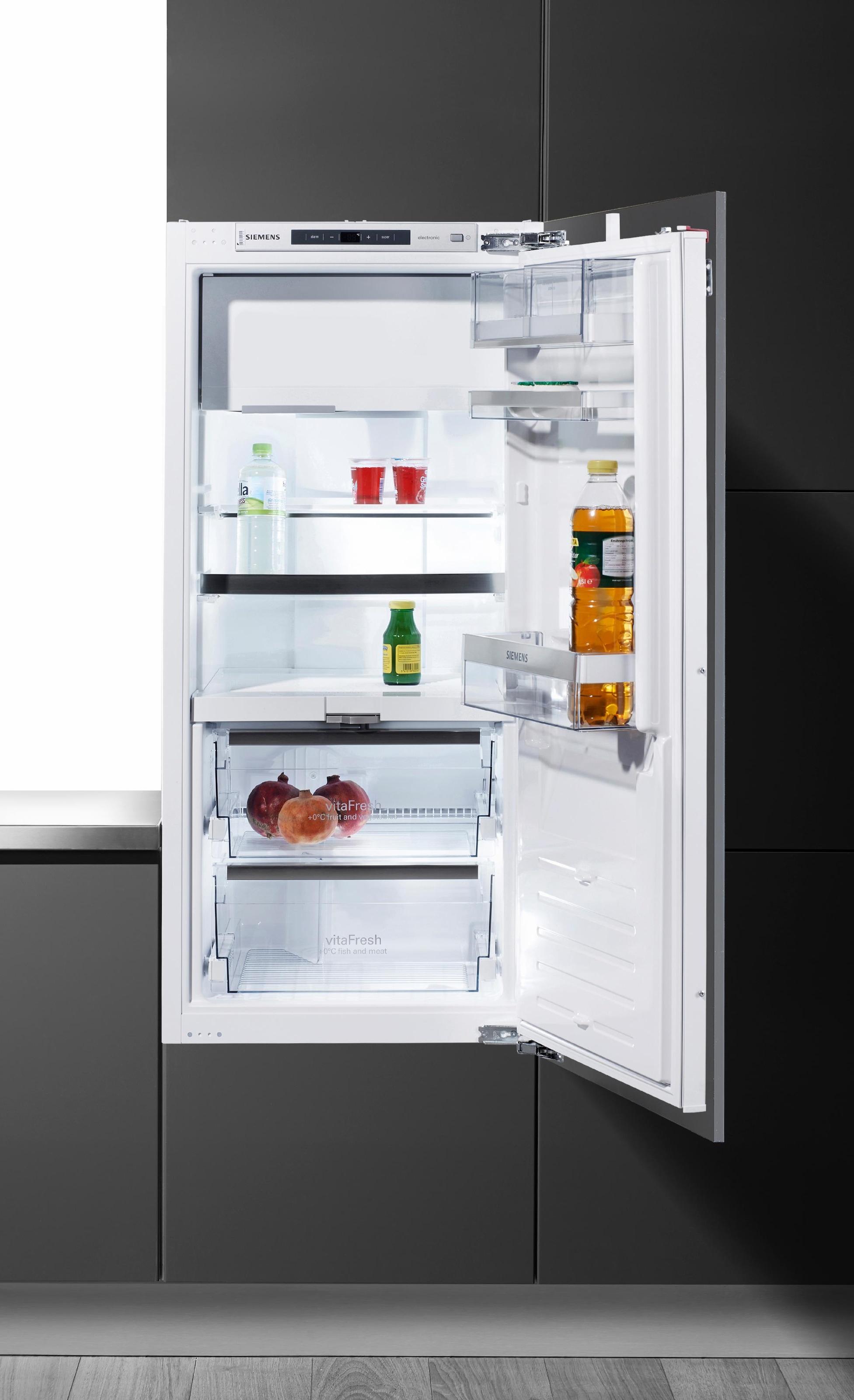 15 L Siemens KI32LAD40 iQ500 Einbau-K/ühlschrank Flachschanier K/ühlen TouchControl Elektronik A+++ 139 L Gefrieren