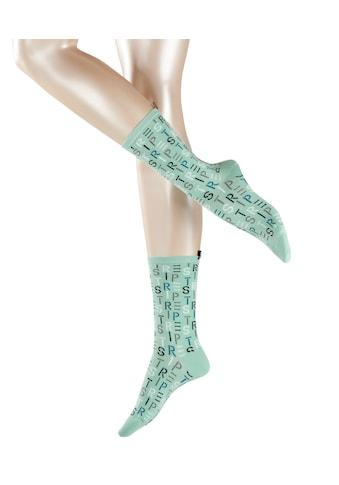 Esprit Socken »Heritage Logo«, (1 Paar), ein angenehmer Materialmix kaufen