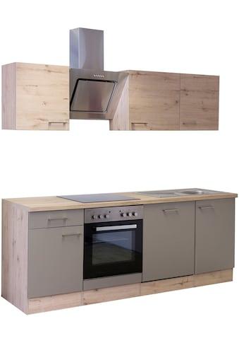 Flex-Well Küchenzeile »Riva«, mit E-Geräten, Breite 220 cm kaufen