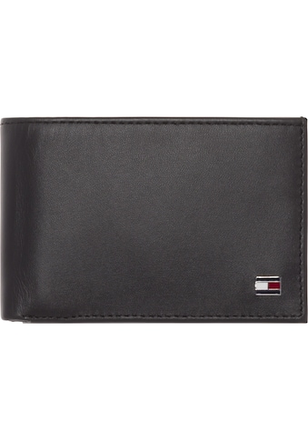 Tommy Hilfiger Geldbörse »ETON MINI CC FLAP & COIN POCKET«, aus echtem Leder kaufen
