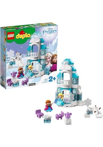LEGO® Konstruktionsspielsteine »Elsas Eispalast (10899), LEGO® DUPLO® Disney... kaufen