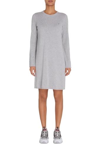 TOMMY HILFIGER Sweatkleid »SOFT CO C - NK DRESS LS« kaufen