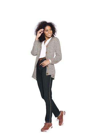 Classic Basics Jeans mit Kontrastpaspel kaufen