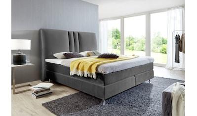 ATLANTIC home collection Boxspringbett, mit Topper und hohen Kopfteil kaufen