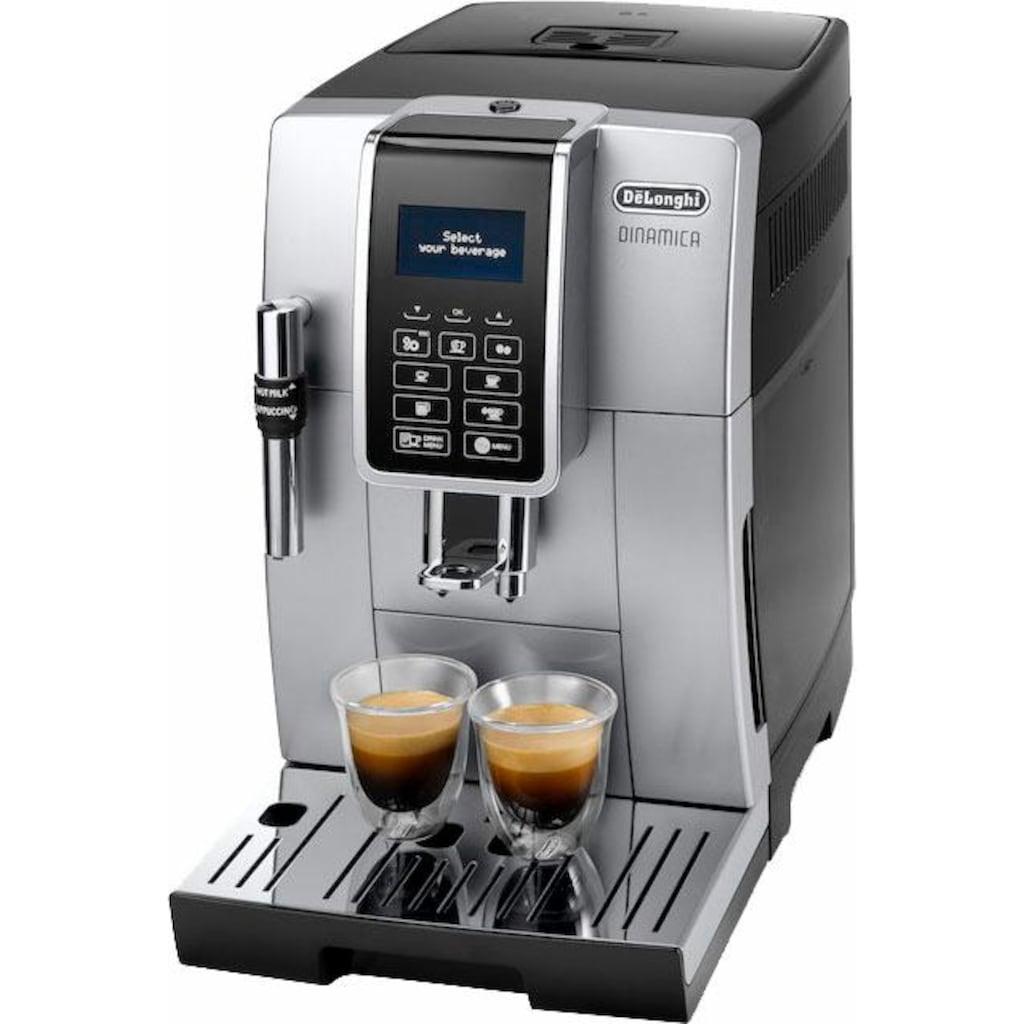 De'Longhi Kaffeevollautomat »Dinamica ECAM 350.35.SB«, Sensor-Bedienfeld
