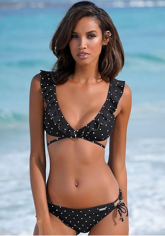 LASCANA Triangel-Bikini-Top »Sparkle«, mit kleinen Tupfen kaufen