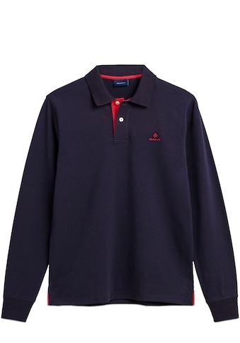 Gant Langarm-Poloshirt »CONTRAST« kaufen