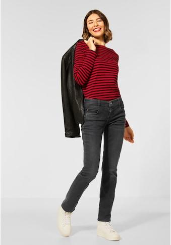 STREET ONE Comfort-fit-Jeans, mit Coating kaufen