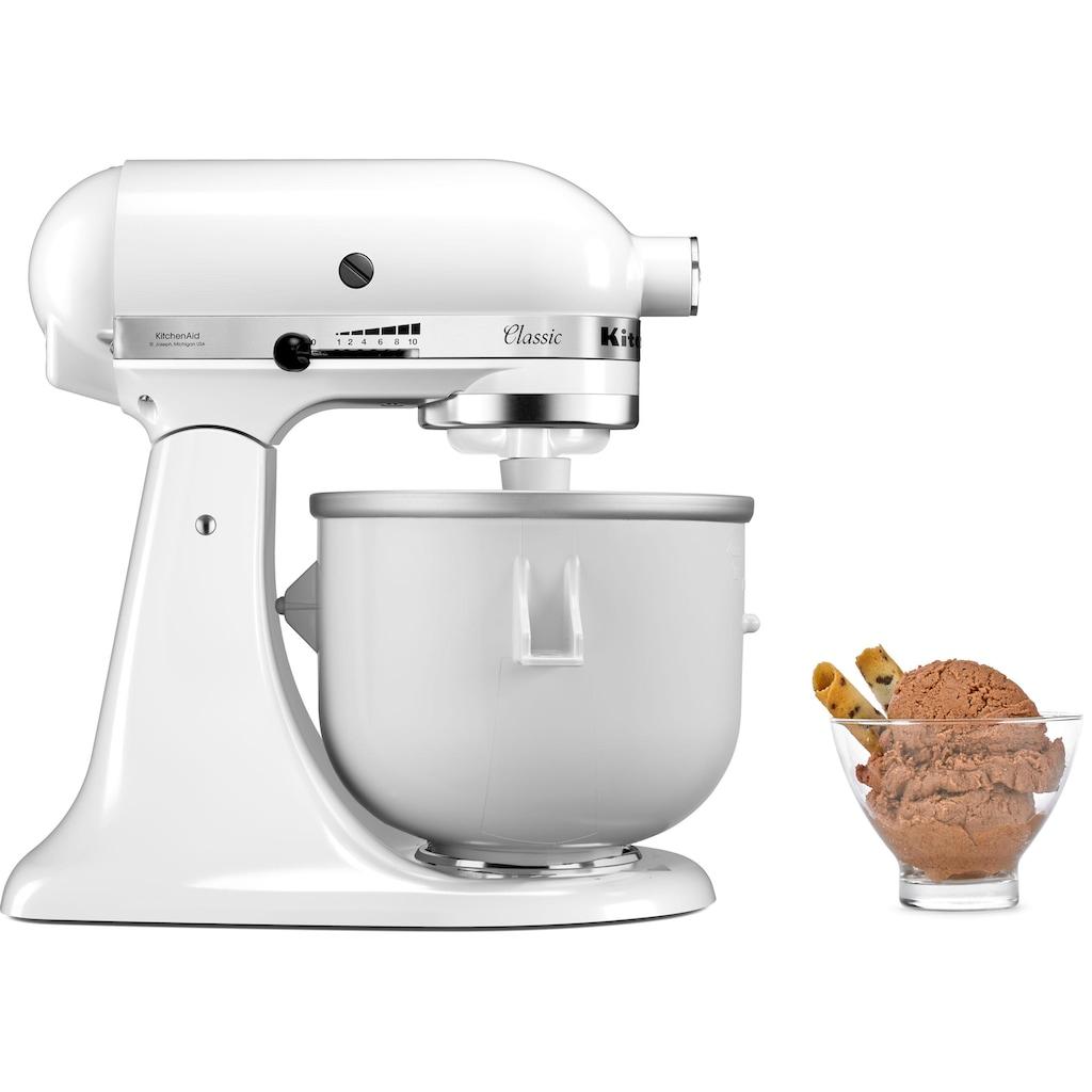 KitchenAid Eisbereiteraufsatz »5KICA0WH«, Doppelwandige Eis Schüssel