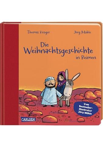 Buch »Die Weihnachtsgeschichte in Reimen / Jörg Mühle, Thomas Krüger« kaufen