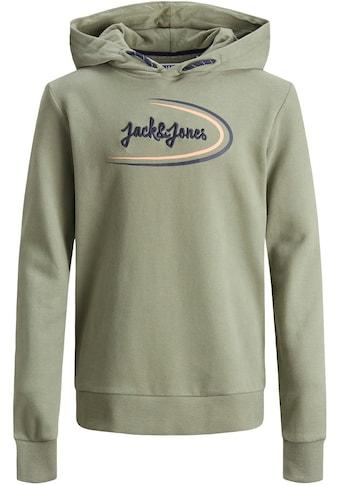 Jack & Jones Junior Kapuzensweatshirt »mit Druck und Stickerei« kaufen