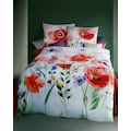 Kaeppel Bettwäsche »Blooming Meadow«, mit großen Mohnblumen