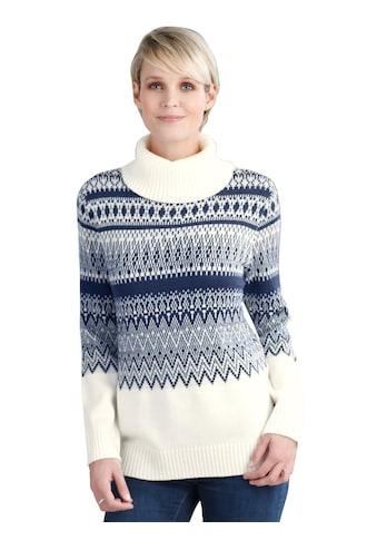 Pullover mit Norwegermuster kaufen