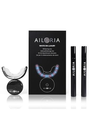 AILORIA Zahnpflege-Set »WHITE ON LUXURY Whitening Set«, Zahnaufhellung Bleaching kaufen