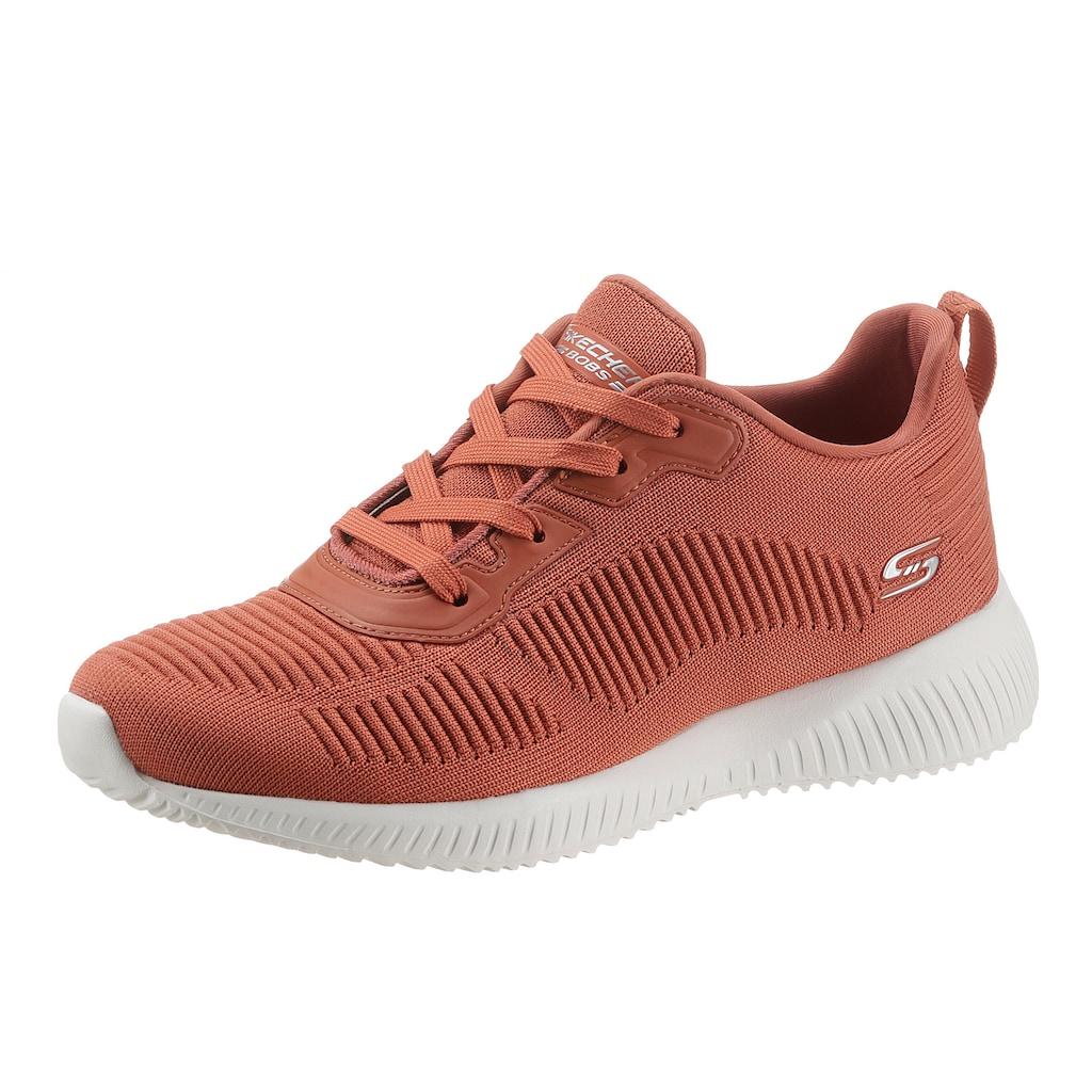 Skechers Sneaker »BOBS SQUAD - TOUGH TALK«, in Strick-Optik