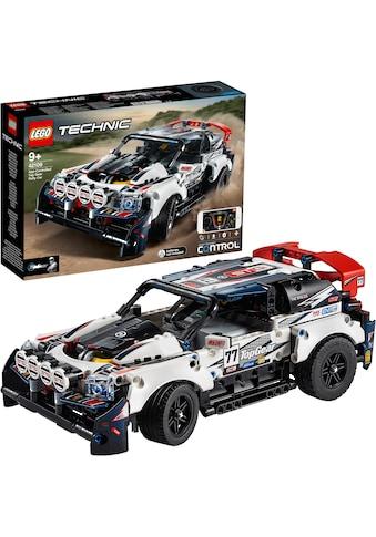 LEGO® Konstruktionsspielsteine »Top-Gear Ralleyauto mit App-Steuerung (42109), LEGO®... kaufen