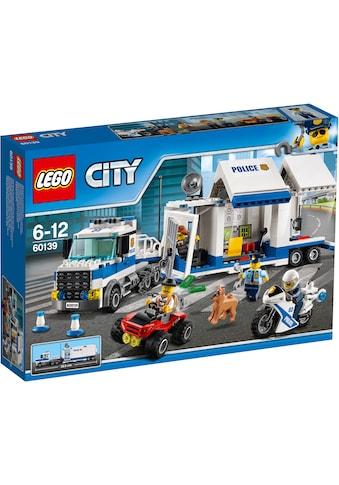 LEGO® Konstruktionsspielsteine »Mobile Einsatzzentrale (60139), LEGO® City«, (374 St.) kaufen
