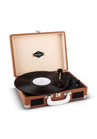 Auna Retro Plattenspieler Koffer Design LP USB Aufnahme Lautsprecher »Peggy Sue« kaufen