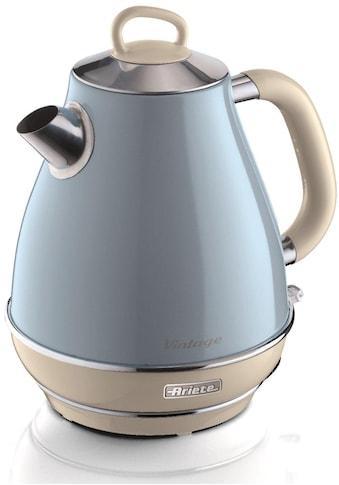Ariete Wasserkocher »Vintage 2869 blau«, 1,7 l, 2200 W kaufen