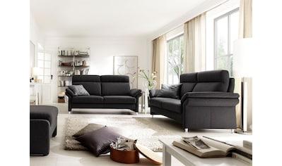 DELAVITA Polstergarnitur »Mailand«, Set: 3-Sitzer, 2-Sitzer und Sessel, wahlweise mit... kaufen