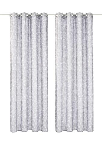 Vorhang, »Camposa«, my home, Ösen 2 Stück kaufen