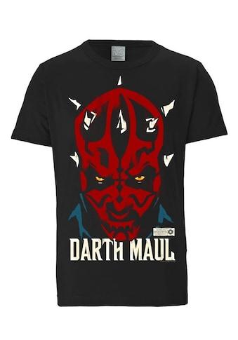 LOGOSHIRT T-Shirt mit Darth Maul-Frontdruck »Darth Maul - Krieg der Sterne« kaufen