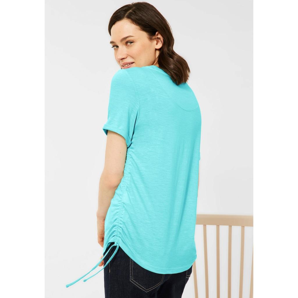 Cecil T-Shirt, mit Bindebändern