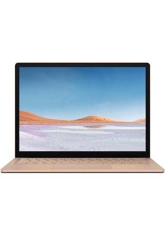"Microsoft Surface Laptop 3 13,5"" – 8GB / 256GB i5 Sandstein Notebook (34 cm / 13,5 Zoll, Intel,Core i5, 256 GB SSD) kaufen"
