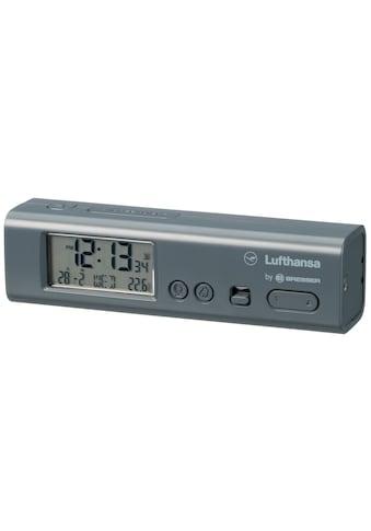 LUFTHANSA Weltzeitwecker »mit Ortszeiten für 62 Städte inkl. Thermometer« kaufen