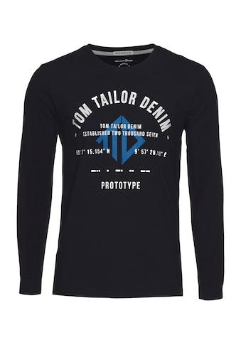 TOM TAILOR Denim Langarmshirt kaufen