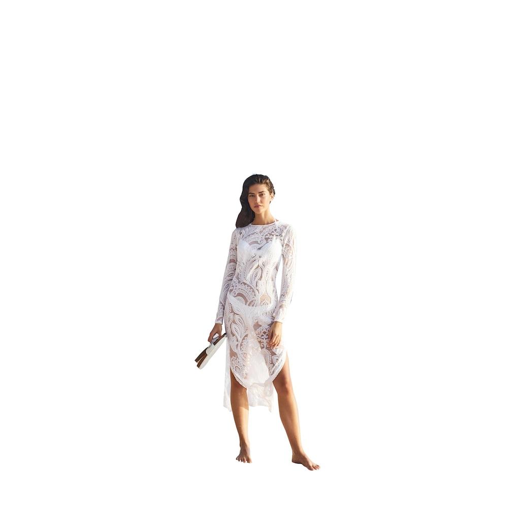 LINEA TESINI by Heine Spitzenkleid, mit Rückenausschnitt
