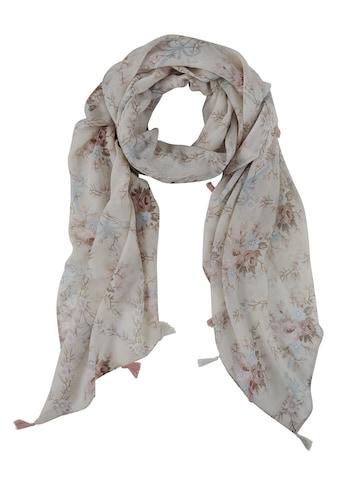 Schal mit modischem Blumendruck kaufen
